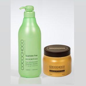 Keratin hair Repair Mask + Sulphate free Shampoo